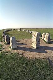Ales stenar -skeppssättning från Vikingatiden
