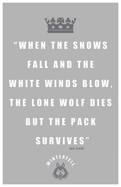 George R.R. Martin #game of thrones quote