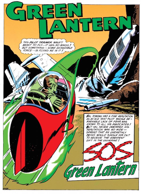 From Roswell to Aztec to Oa. The secret origin of #GreenLantern, #DCComics's #sciencefiction #superhero, is found among the crashed saucers and contactees of the 1950's UFO movement.