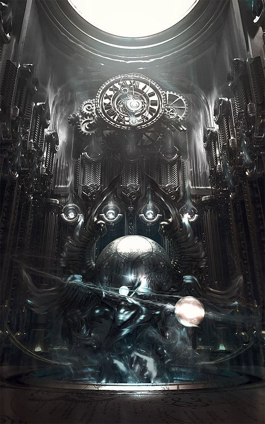 Digital Art by 25-year-old French digital / 3d artist, Wen-JR (540×864)