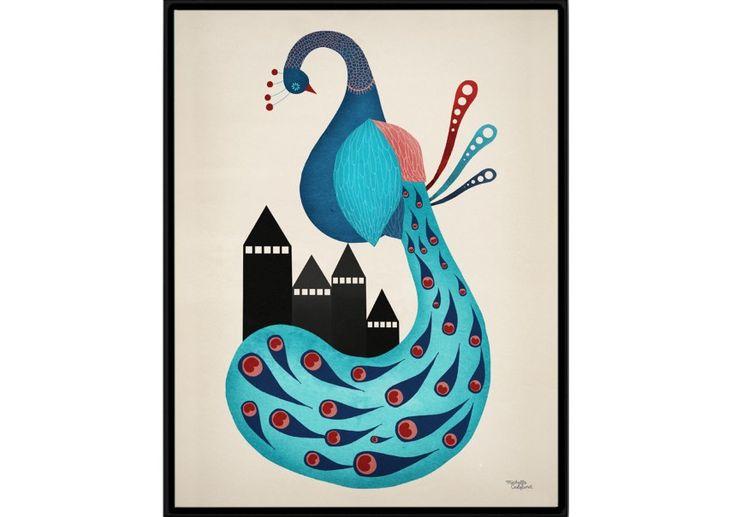 Affiche Michelle Carlslund - Peacok