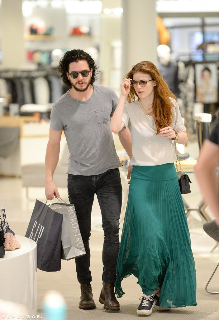 Kit Harington And Rose Leslie Kiss And Hold Hands During