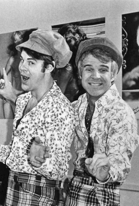 "Dan Ackroyd and Steve Martin - The Czech Brothers - ""Two wild and crazy guys"""