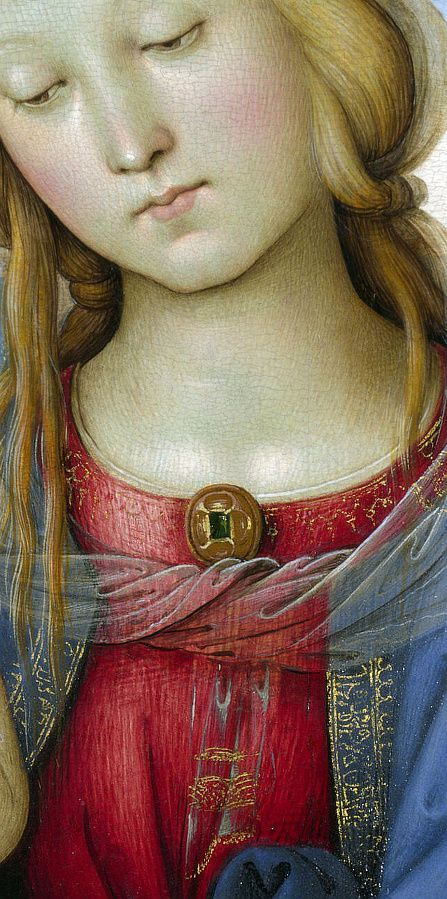PERUGINO Pietro -The Virgin and Child with Saint John: