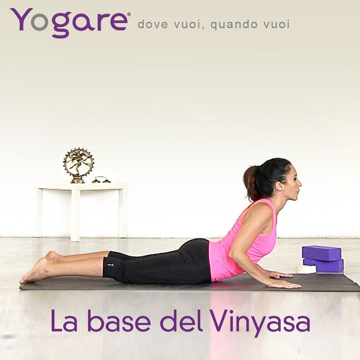 Introduzione al Vinyasa con Sara Bigatti su #yogare http://www.yogare.eu/video-154  #yoga