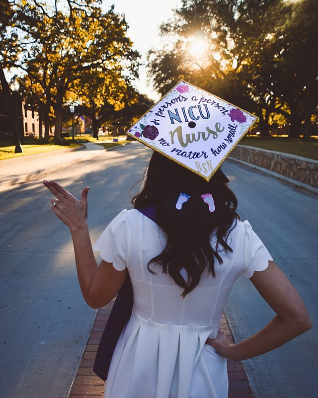 Graduation Cap Ideas For New Nicu Nurses Good Luck To All You