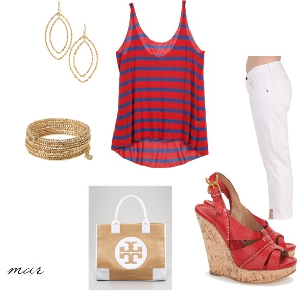 4th of July~!: Blue Outfit, Red White Blu, Fourth Of July, July Outfit, Cute Outfits, 4Th Of July, White Gold, Natural Styles, Style Fashion