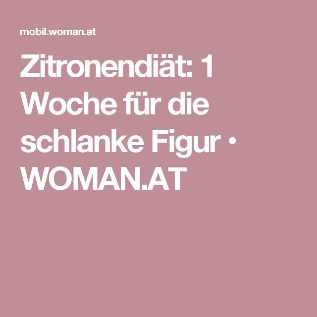 Zitronendiät: 1 Woche für die schlanke Figur • WOMAN.AT