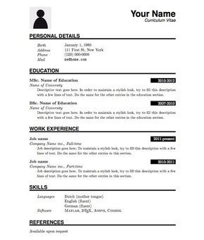 Simple Resume Format In Word Simple Resume Office Templates, Basic Resume  Template 51 Free Samples Examples Format, Basic Resume Template 51 Free  Samples ...  Examples Of Simple Resumes