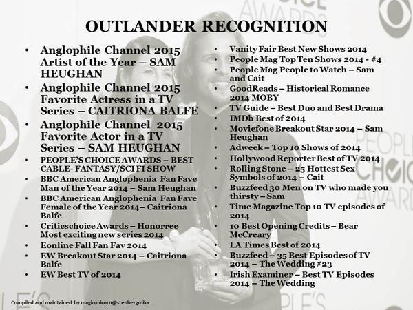 #OutlanderWorldDomination