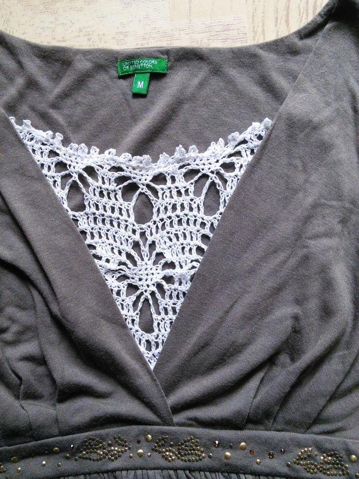 Sweet Nothings Crochet Clip on Mock Camisole: FREE crochet pattern