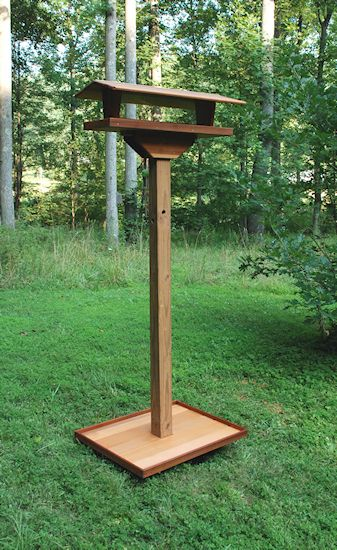Hurley-Byrd How-Installing a Large Pole Mounted Bird Feeder