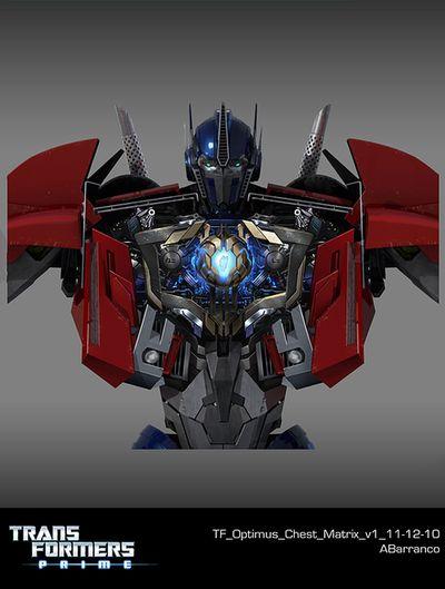 Optimus prime matrix transformers prime autobot designs - Optimus prime dessin ...