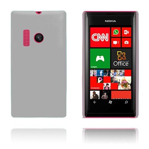 Hard Shell (Hvid) Nokia Lumia 505 Cover