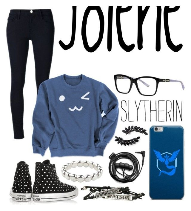 """Jolene"" by iamnumber-four on Polyvore featuring Cristabelle, Frame, Nina Ricci, Converse, Forever 21, Valor and Vicky Davies"