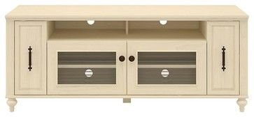 Volcano Dusk TV Stand w Pull-Out Media Storag - contemporary - Media Storage - ivgStores