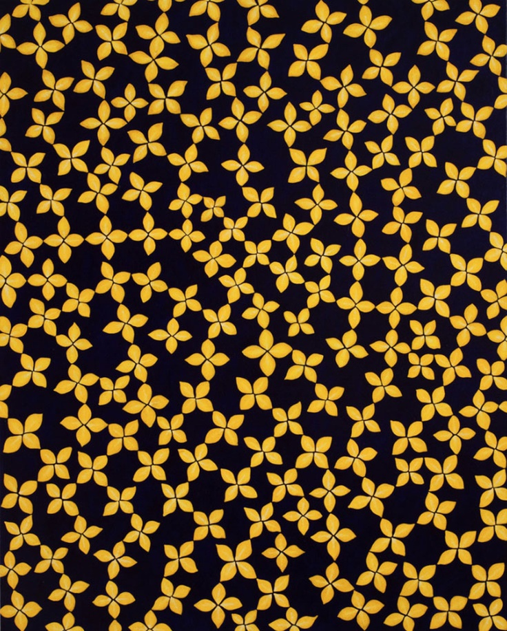 Yellow Star Flower, 2012 by Sara Sosnowy .