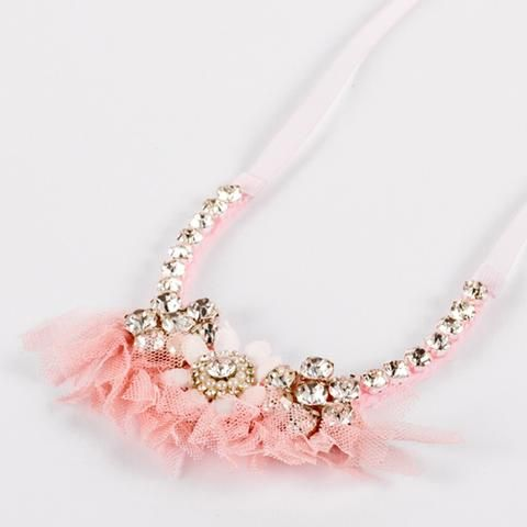 The Primrose in Pink Necklace - from #Siennalikestoparty newly launched #luxjewels for #littleprincesses #kidsjewels #nzdesigners