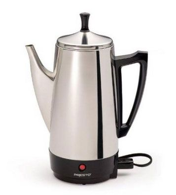 Presto 02811 12-Cup Stainless Steel Coffee Maker:  QUESTION:  Other then the commercial coffee makers, are there any completely automatic drip home coffee makers out there that have no plastic parts?