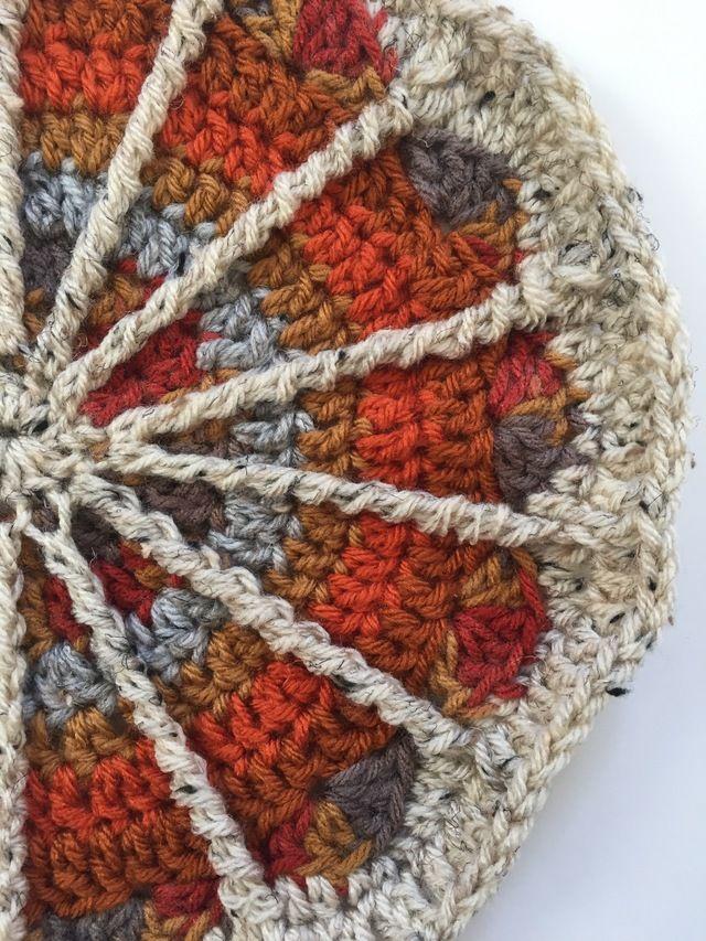 Único Patrones Afganos Hermosa Crochet Libre Adorno - Ideas de ...