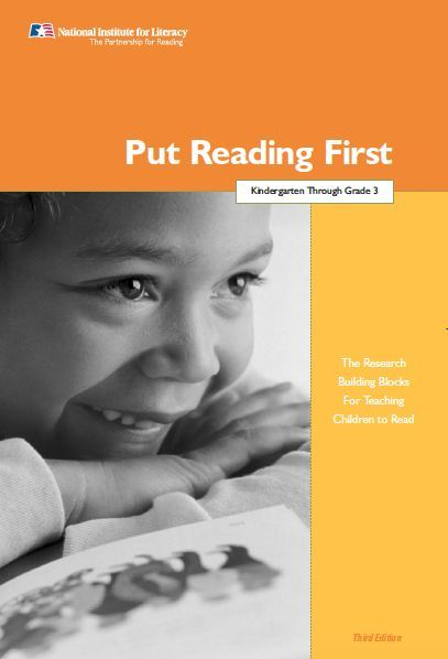 UNDERSTANDING: Chapter 2 of Put  Reading  First (PFR) focuses on Phonics Instruction. Reading this chapter helped me develop a clear understanding of phonics and the importance of phonics instruction to support the development of the alphabetic principle. The document emphasizes the importance of systematic and explicit phonics instruction and reinforces how it can be most effective when started in kindergarten or grade 1.
