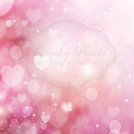 Valentines Heart Bokeh - Oz Backdrops and Props