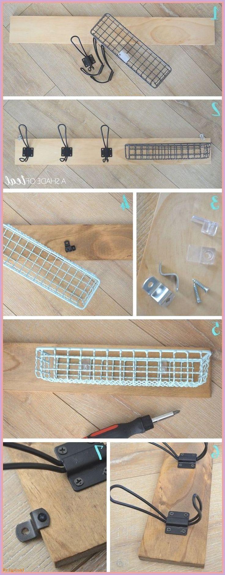 basket and crate – Korb und Kiste – Wie man einen Hundeleinenhalter macht #b… – Korb und Kiste