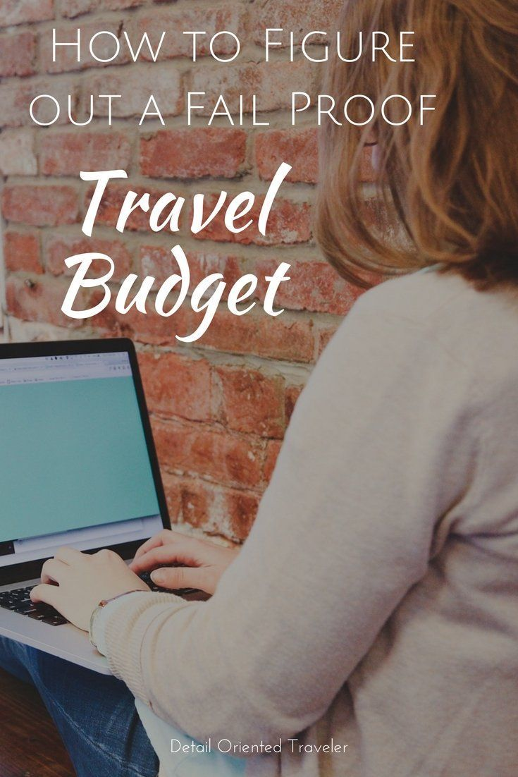 How to Figure out a Fail-Proof Travel Budget | Outdoor Travel