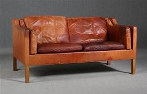 Køb og sælg moderne, klassiske og antikke møbler - Børge Mogensen. 2-pers. sofa, model 2212 - DK, Helsingør, Støberivej