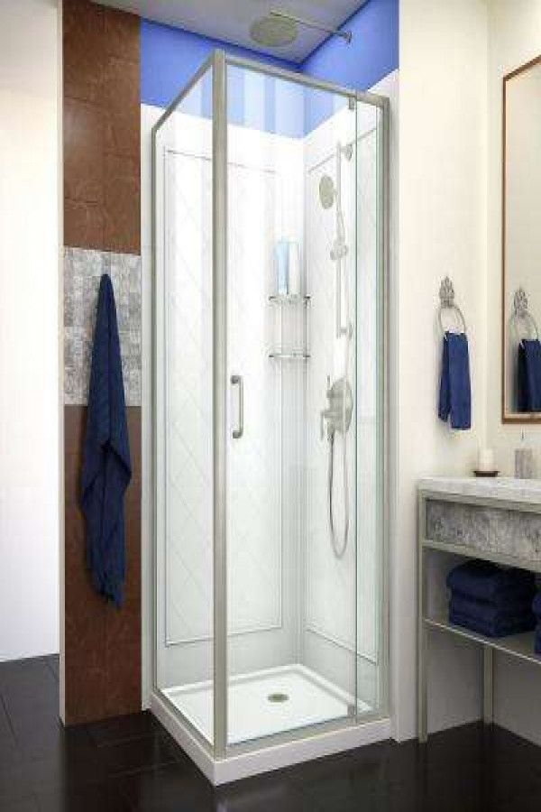 23 Small Shower Stall Ideas With Images Corner Shower Kits