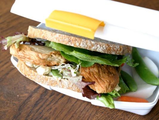 Sandwich med fiskekake