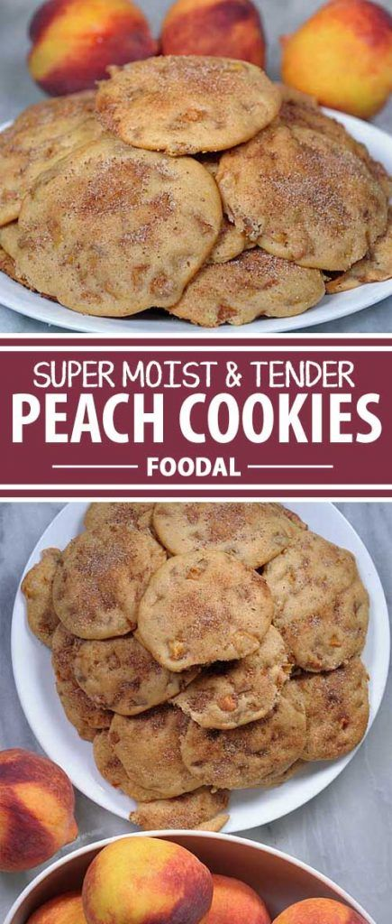 Do you love pastries but love the storage and portability of cookies? If so, this peach version will definitely do the trick. The fruit makes this one something special – part pastry and part cookie, this dessert is to die for. Get the recipe now on Foodal!