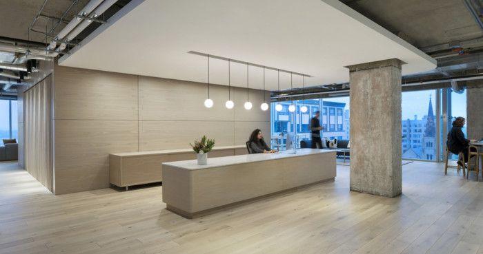 Zendesk Offices Madison Office Snapshots Reception Area Design Office Design Lobby Interior Design