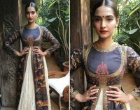 Sonam Kapoor in Rohit Bal outfit
