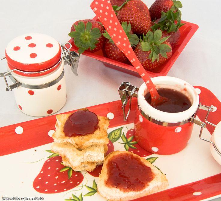 Más dulce que salado: Mermelada de Fresa con Canela y Clavos