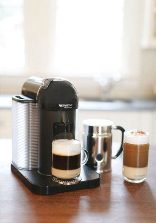 Master the art of creating delicious coffee from the comfort of your own kitchen with the help of a Nespresso Vertuoline coffee machine. Whether you're enjoying brunch with friends or entertaining guests at a dinner party, having your favorite Nespresso Grand Cru on hand will keep you refreshed no matter what time of day.