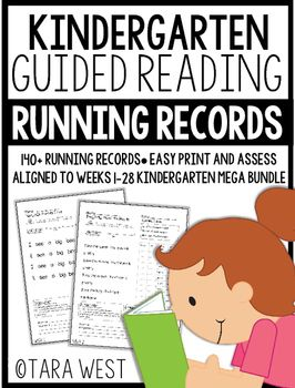 * * FLASH FREEBIE for my Kindergarten Guided Reading Mega Bundle, Step by Step weekly packets, and Emergent Reader owners! * *Kindergarten Guided Reading Running Records {Weeks 1-28}Thanks so much for viewing my Kindergarten Guided Reading Mega bundle running records packet!