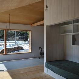 池田町の平屋の部屋 アルコーブ