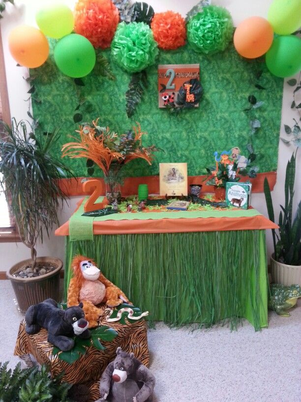 184 best Jungle Book Party images on Pinterest Jungle party