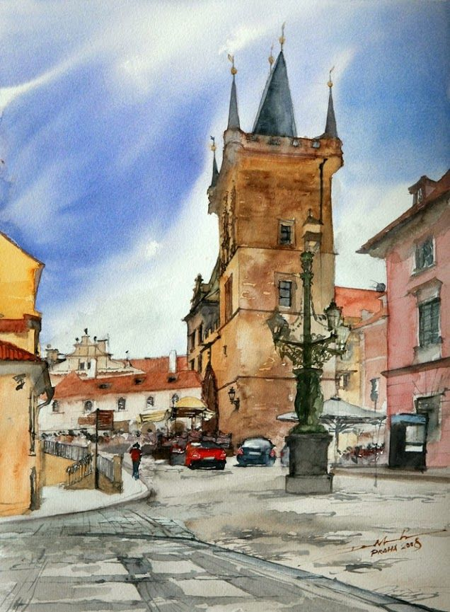 Minh Dam Watercolor