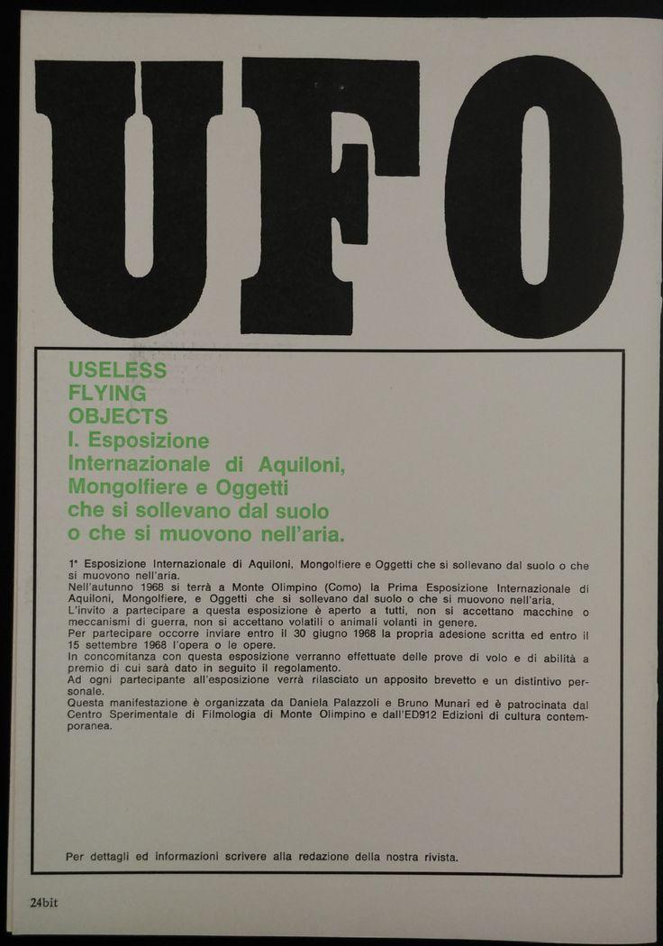 Articolo del giornale BIT, 1968
