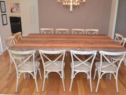 Wanted To Buy 12 Seater Rustic Timber Dining Table With