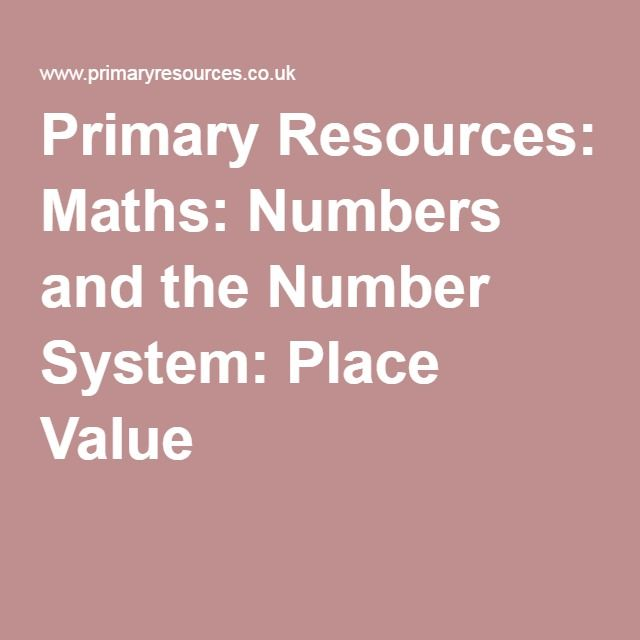 Percentages Primary Resources