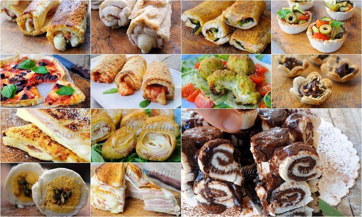 Ricette con pancarrè facili e veloci salate e dolci vickyart arte in cucina