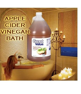 LOW COST HEALING BATH If you've never had an apple cider vinegar bath, do one today! The benefits are too many to mention. Your skin is naturally acidic (soap is alkaline and bad for your skin). If you are run down, you must do this ! An ACV bath relaxes like nothing else. Use a half gallon per bath (or more if you want)... I do this once a week! Try it :)