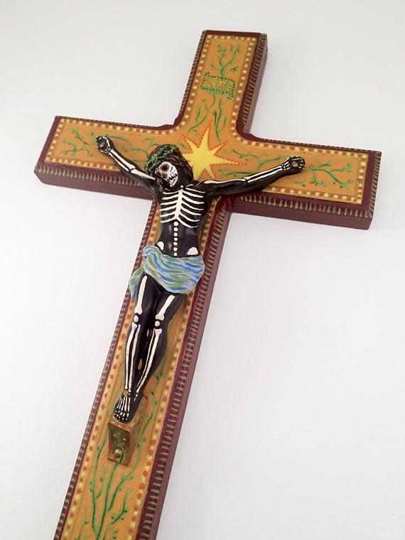 Jezus kruisiging dag van de dode muur opknoping kunst Kruis