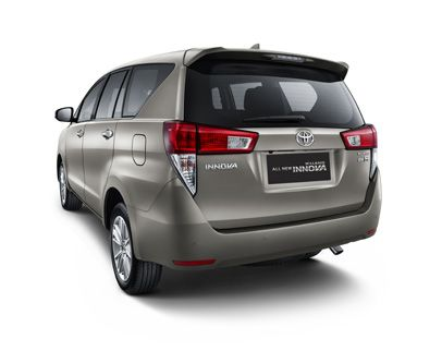 Exterior Look All New Kijang Innova Tipe Q (Rear)