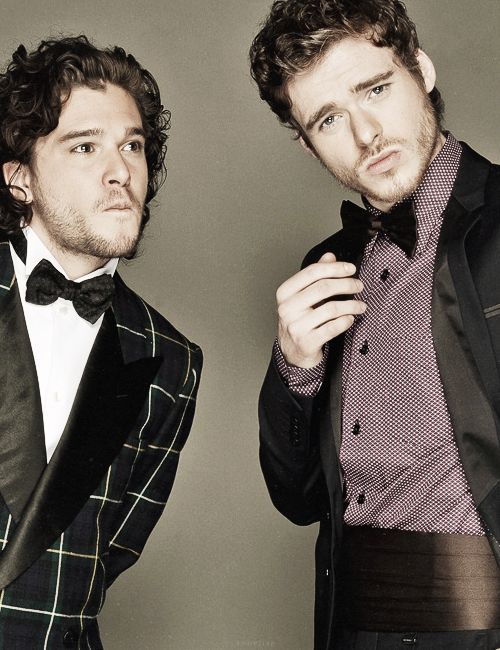 Kit Harrington & Richard Madden. I want. Very. Very. Very. Much.