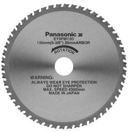 Panasonic EY3530NQMKW - 15.6V Cordless Metal Cutter Kit