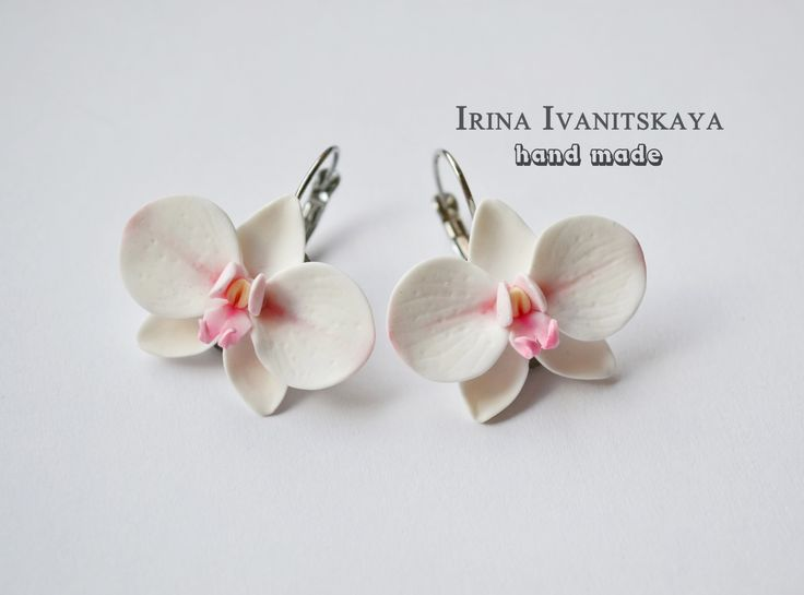 Привет всем! В этом видео мастер-классе я покажу как сделать серьги белые орхидеи из полимерной глины. TRANSLATION SEE BELOW Интересные мастер-классы: vk.com...